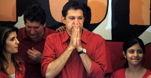 O prefeito de So Paulo Fernando Haddad, criticou a greve dos motoristas e cobradores de nibus (REUTERS/Nacho Doce)